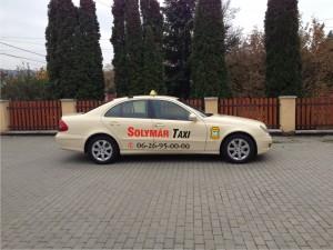 Solymáron taxit keres?